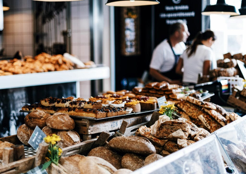 Image of a bakery