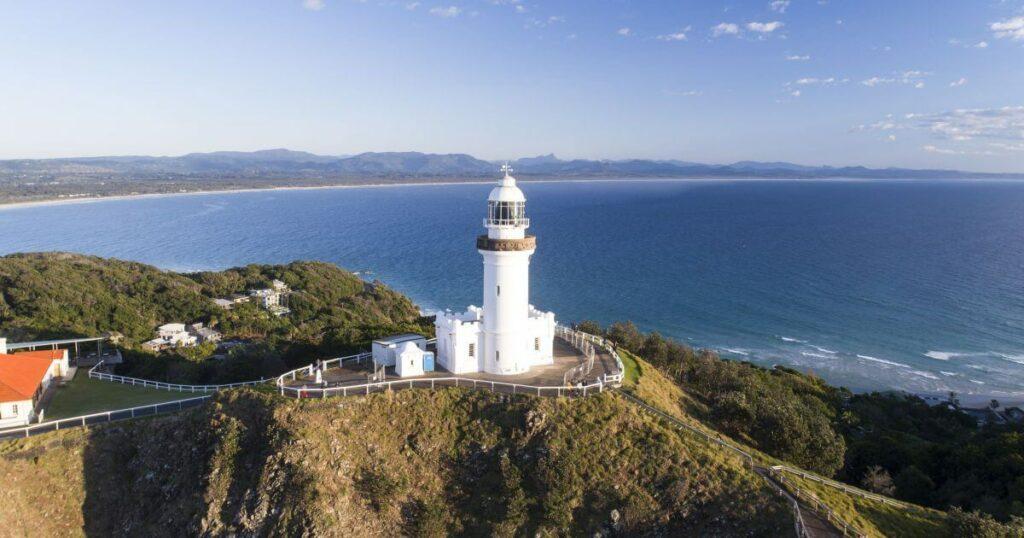 Byron Bay lighthouse image